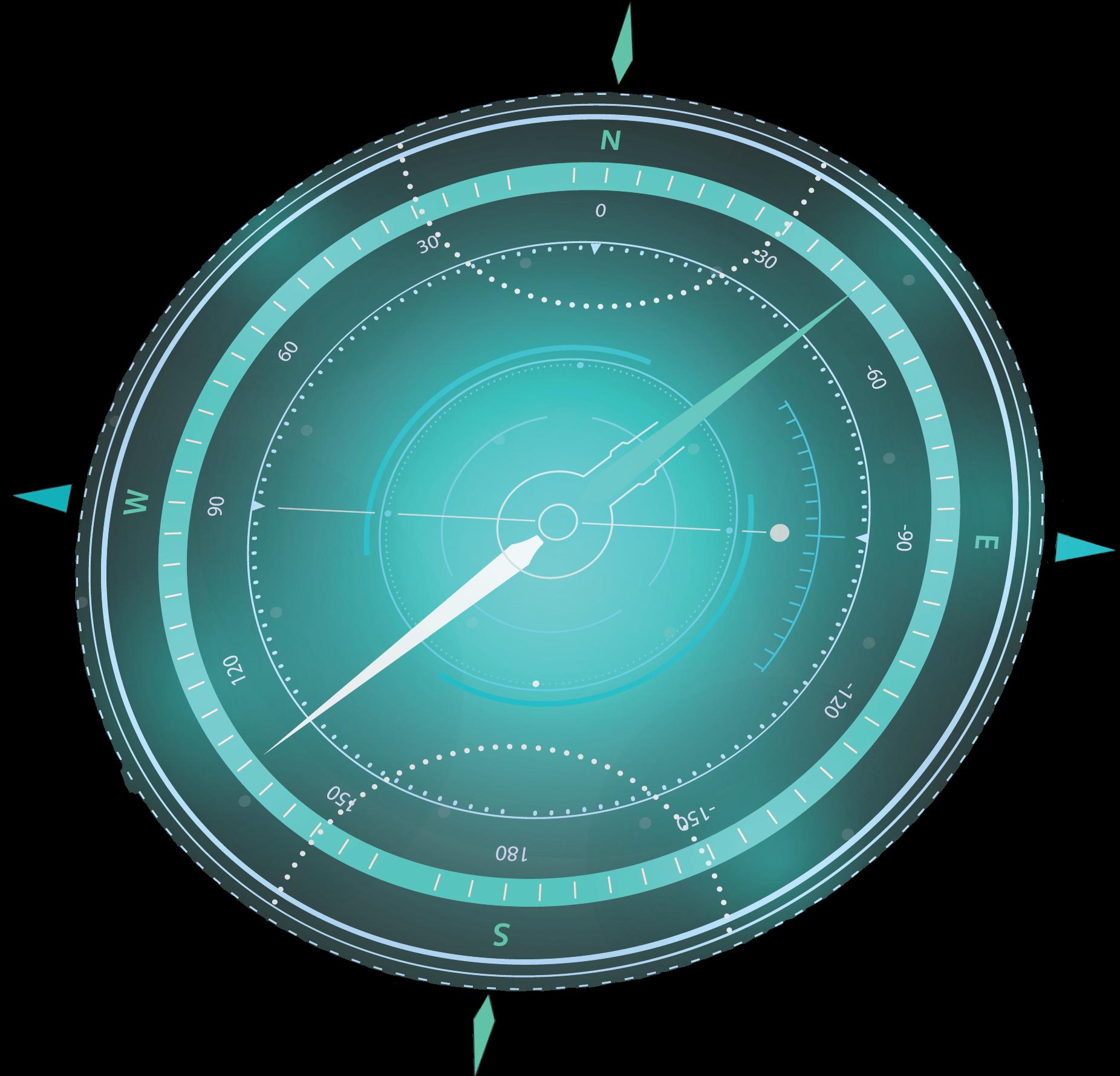 Compass (no background)